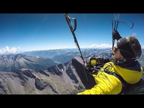 Vol Biv Paragliding trip from Salzburg to Freibad Flattach
