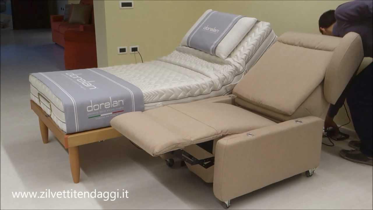 Poltrona elettrica con ruote per anziani e disabili obesi for Smart relax divano letto prezzo