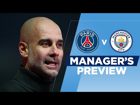 Pep Guardiola on Messi, PSG's talented squad | PSG v Man City | Champions League Press Conference