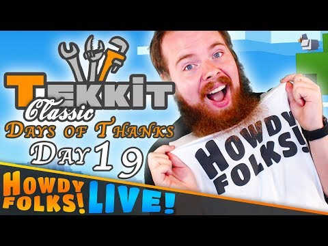 Jungle Safari || Tekkit Classic || Days of Thanks - Day 19
