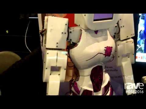 DSE 2016: Solus Robots Intros Digital Signage Robot for Advertising on Wheels