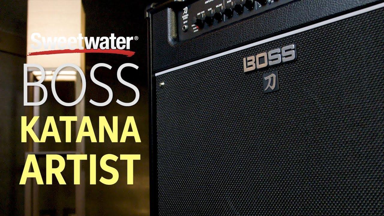 Boss Katana Artist Amplifier Review Youtube Make Original 100w Guitar Amp