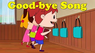 Good-bye Song for Kids - Kindergarten and Preschool Song by ELF Learning