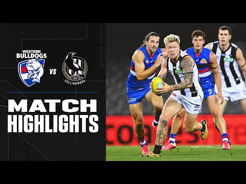 Western Bulldogs V Collingwood Highlights | Round 1, 2020 | AFL