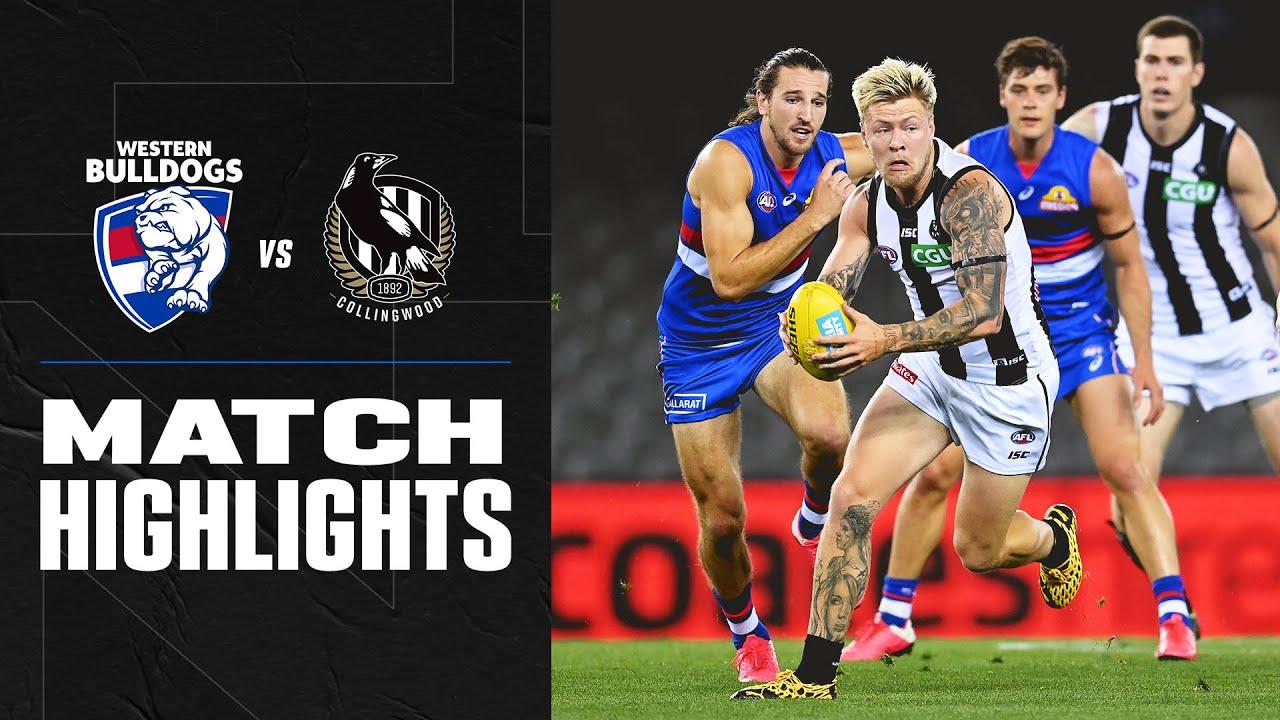 Western Bulldogs v Collingwood Highlights | Round 1 2020 | AFL – AFL