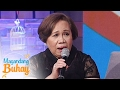 magandang buhay momshie rosario on vice being a celebrity