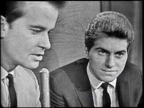 American Bandstand 1964- Interview Johnny Rivers