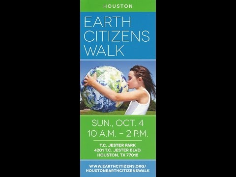 Houston Earth Citizens Walk 2015 - Video Clips