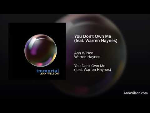 Ann Wilson  You Don't Own Me