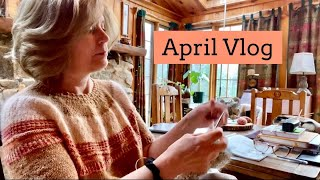 The Autumn Acorn Knits/April Vlog/Knitting and River Walk