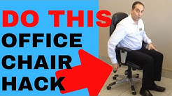 Best Way To Use Your Office Chair by Chiropractor in Vaughan Dr. Walter Salubro