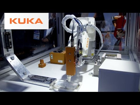 KUKA ready2_fasten_micro - Robotic Micro Screw Fastening