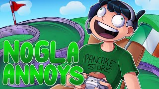 Nogla Annoys returns to annoy all of his friends in Golf It!