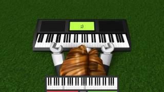 Roblox piano: River flows in you *ADVANCED*