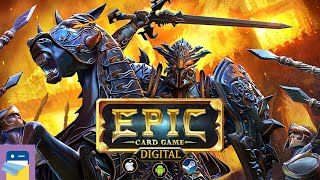 Epic Card Game: iOS / Android Gameplay Part 1 (by White Wizard Games)