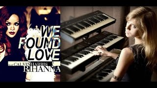 Rihanna  - We Found Love (complex piano cover)