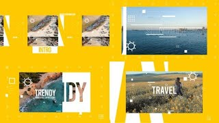 Travel Abstract Intro | After Effects template
