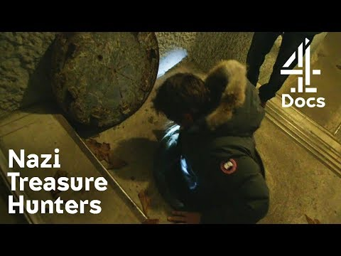 Exploring Flooded Underground Nazi Bunker For Treasures From The Amber Room | Nazi Treasure Hunters