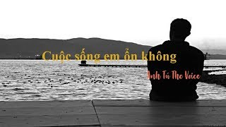 Cuộc Sống Em Ổn Không (Beat chuẩn) - Anh Tú The Voice | Karaoke EB
