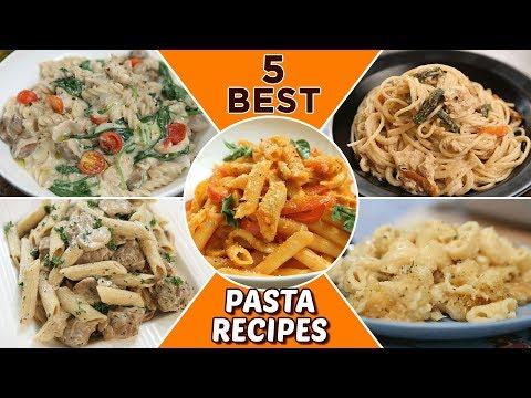 5 BEST Pasta Recipes - Delicious Pasta Recipes For Lunch/Dinner - Italian Pasta Recipes