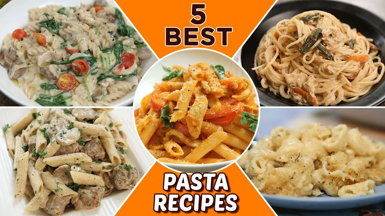 5 Best Pasta Recipes Delicious Pasta Recipes For Lunch Dinner Italian Pasta Recipes Youtube