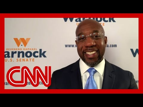 Raphael Warnock gives first interview after projected Senate win