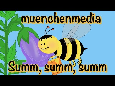 🎵 Summ, summ, summ Bienchen summ herum  -  Kinderlieder deutsch  -  Volkslieder  | muenchenmedia