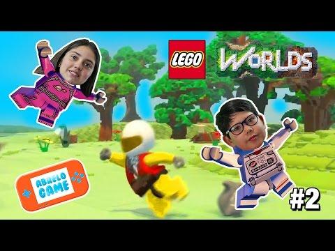 Lego Worlds Por Fin Libres con Ardillas Locas Capitulo 2 Gameplay en Español Abrelo Game
