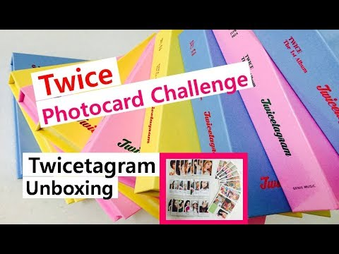 Twice Twicetagram Many albums unboxing 트와이스 정규 1집