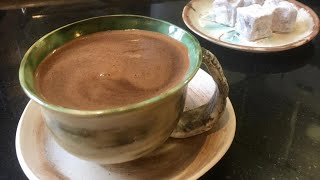 How to make Turkish coffee and its rituals