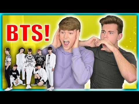 Reacting to K-Pop For The First Time (BTS)
