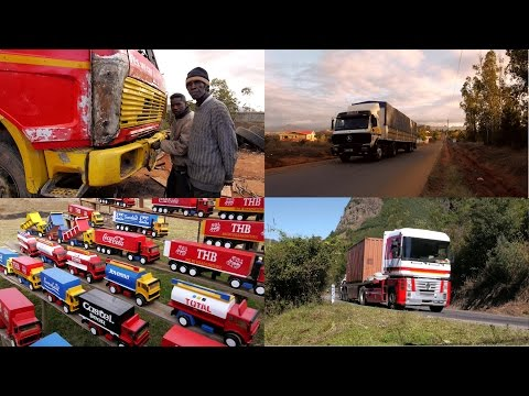 Trucking in Africa Madagascar