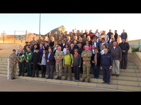 Grand send-off for former Regiment CO walking to Jerusalem for charity