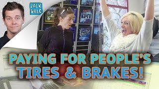 Paying For People's Tires And Brakes!