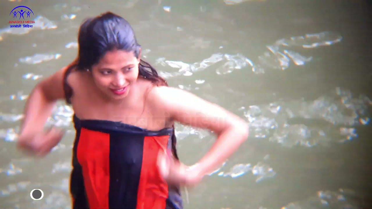 Download Ganga snan 2021   Holybath   Ganga snan   Holy bath Salinadi Snan  Nepal Devghat Mela