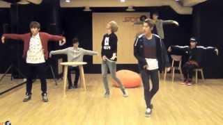 Teen Top 'Lovefool' mirrored Dance Practice