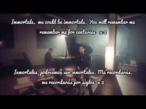 Centuries / Immortals MASHUP! (Sam Tsui & KHS) Lyrics + Sub Español