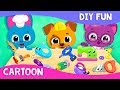 DIY Fun: Sewing, Building & Cooking 🍕 Cartoon | Cute & Tiny Professions | Mobile Games for Toddlers