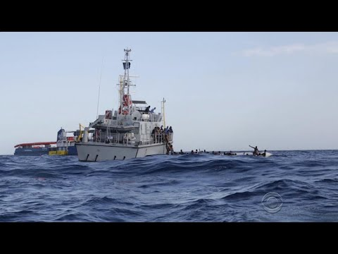 New video of failed rescue attempt in Mediterranean Sea