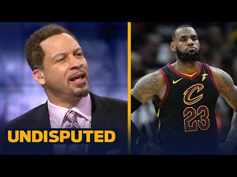 Chris Broussard reacts to Cavs' coach Ty Lue criticizing LeBron James ahead of Game 2 | UNDISPUTED