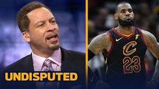 Chris Broussard reacts to Cavs