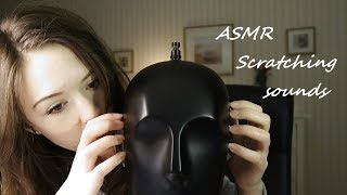 ASMR Head scratching, hand scratching and ear blowing sounds