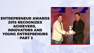 Entrepreneur Awards 2015 recognizes