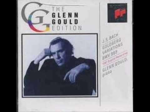 J.S. Bach - Goldberg Variations: Aria (Glenn Gould)