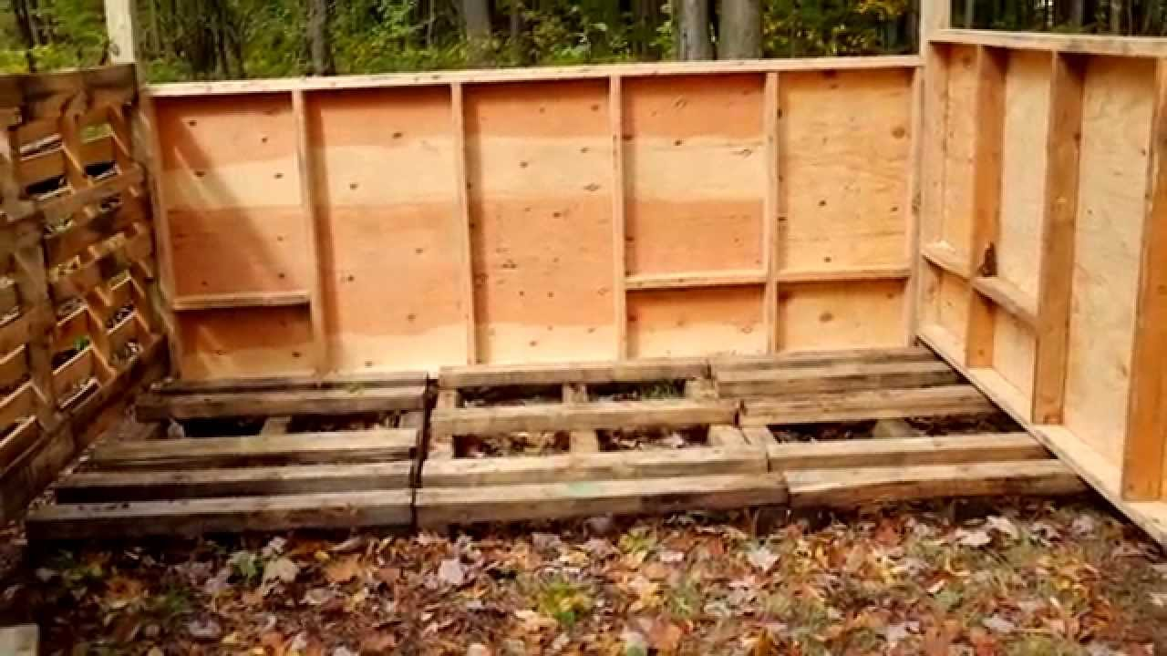 Building the sugar shack part 1 youtube for How to build a small shack