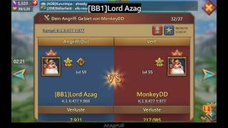 K1 Lords Mobile:  Member with 30M might, zeroed by BB1