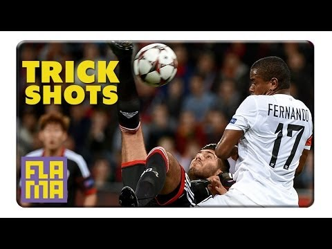 Super Accurate Soccer History - The Bicycle Kick