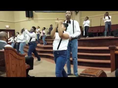 Great God by Deitrick Haddon praise dance