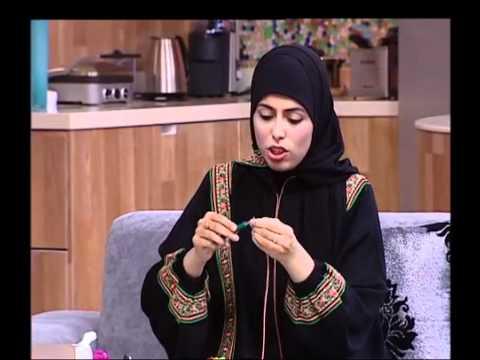 Quilling with Farah Al-Fardh Studio One - Dubai One TV فن لف الورق فرح الفرض