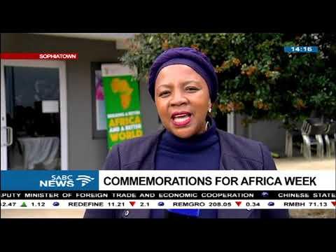 SA arts legends commemorate Africa week